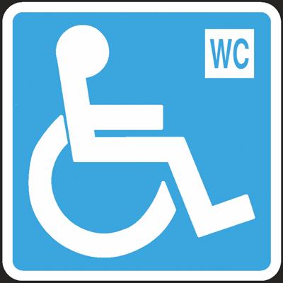 Segnaletica Cartello Wc Disabili